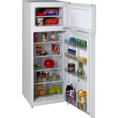 7.4 Cubic Foot Apartment Mini Refrigerator/Freezer (White)