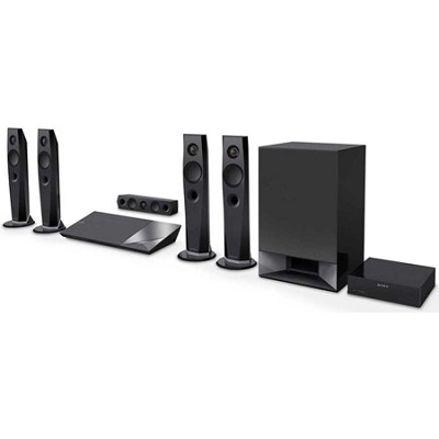 1200W 5.1ch Hi-Res Blu-Ray Disc Home Theater System - BDV-N7200W