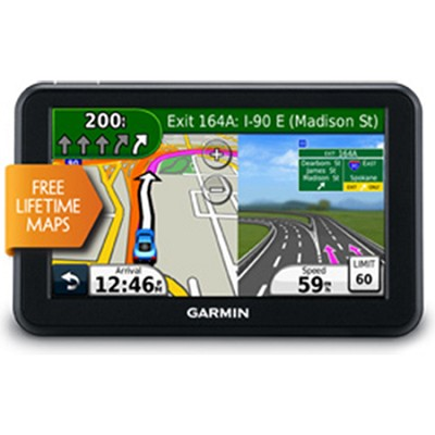 nuvi 50LM 5-Inch Portable GPS Navigator with Lifetime Maps (US) Refurbished
