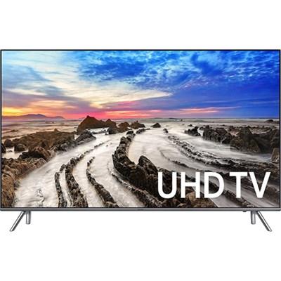 UN75MU8000FXZA 74.5` 4K Ultra HD Smart LED TV (2017 Model) - Refurbished