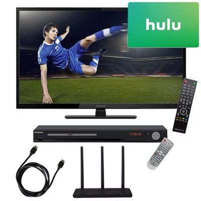 40` 1080p 60Hz LED HDTV w/ Terk Trinity HD Antenna, 3 Months Netflix Kit