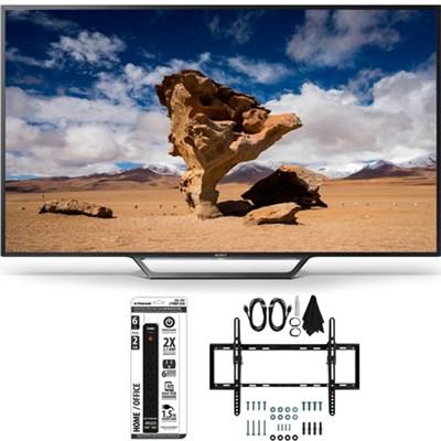 KDL-40W650D 40-Inch Class Full HD 1080P TV with Flat + Tilt Wall Mount Bundle