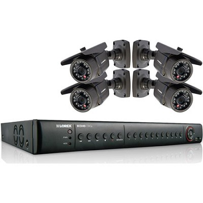 ECO HD 8 Channel Series 2TB Security DVR with 4 1080p HD Cameras