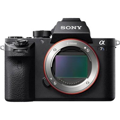 a7S II (Alpha 7S II) Full-frame Mirrorless Interchangeable Lens - OPEN BOX