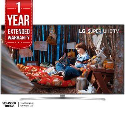 SUPER UHD 75` 4K HDR Smart LED TV 2017 Model 75SJ8570 with Extended Warranty