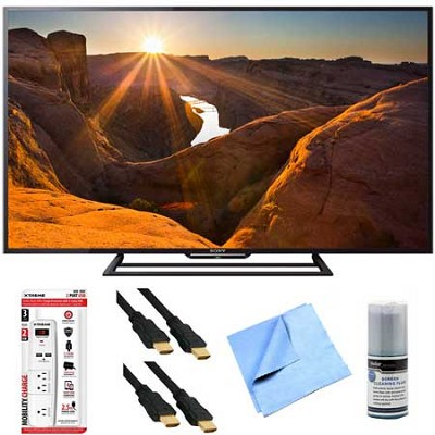 KDL-48R510C - 48-Inch Full HD 1080p 60Hz Smart LED TV Plus Hook-Up Bundle