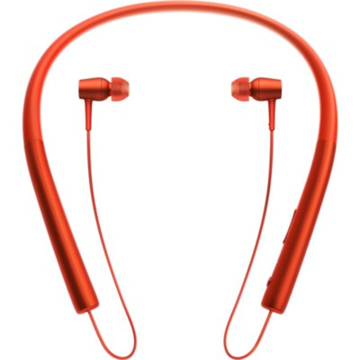 MDR-EX750 h.Ear in Wireless In-ear Bluetooth Headphones w/ NFC - Cinnabar Red