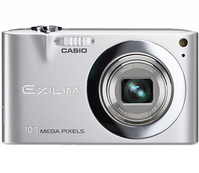 Exilim EX-Z100 10.1MP Digital Camera with 2.7` LCD (Silver)