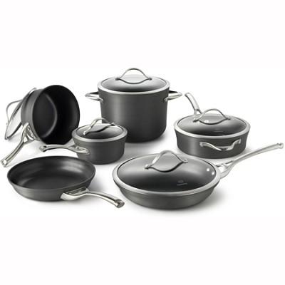 Contemporary Nonstick 11-pc. Cookware Set - 1775823