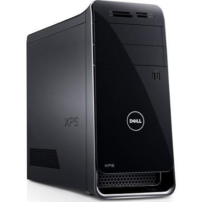 XPS 8700 Desktop Computer - Intel Core i7 i7-4790 3.60 GHz - Black/Silver