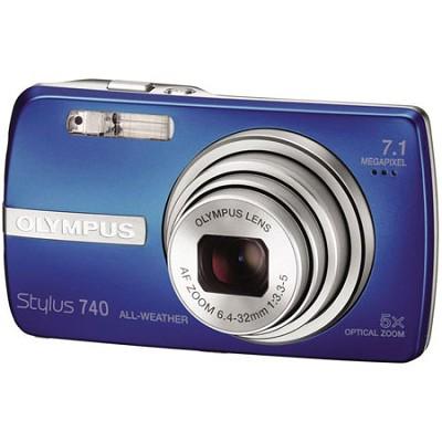 Stylus 740 Digital Camera (Blue)