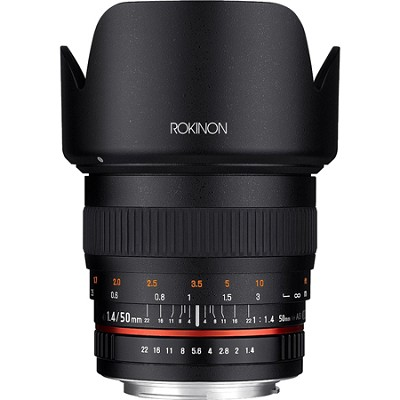 50mm F1.4 Lens for Nikon DSLR