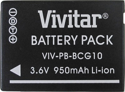 BCG10 950 mAh Battery for Panasonic ZS7, ZS5, ZS3 and ZS1 series