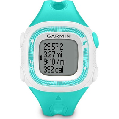 Forerunner 15 Heart Rate Monitor Bundle Small - Teal/White