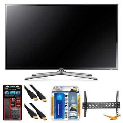 UN60F6300 60` 120hz 1080p WiFi LED Slim Smart HDTV Wall Mount Bundle