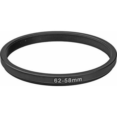 62/58 Lens Adapter Step-Down Ring