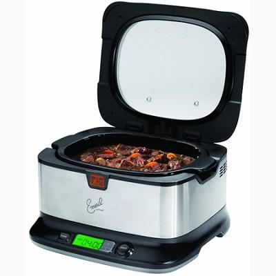 Emeril by T-fal 6-Quart Slow Cooker w/ Automatic Temperature Control - OPEN BOX