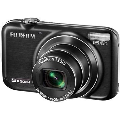 FINEPIX JX350 16 MP Digital Camera 5.0x Wide Angle Zoom 2.7` LCD (Black)