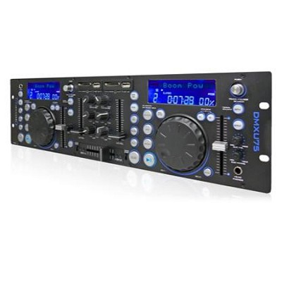 DMXU75 Professional Double USB/ SD Player & Mixer