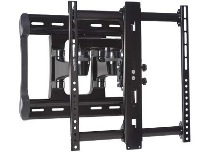 VXF220 All-weather Full Motion Dual Arm Wall Mount 42` - 84` TVs (extends 20`)
