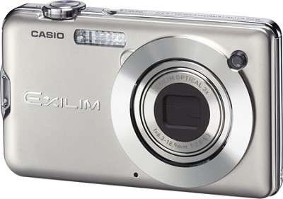 Exilim S12 12.1 MP 2.7` LCD Digital Camera (Silver) - REFURBISHED