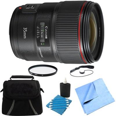 Wide Angle EF 35mm f/1.4L II USM Lens Bundle