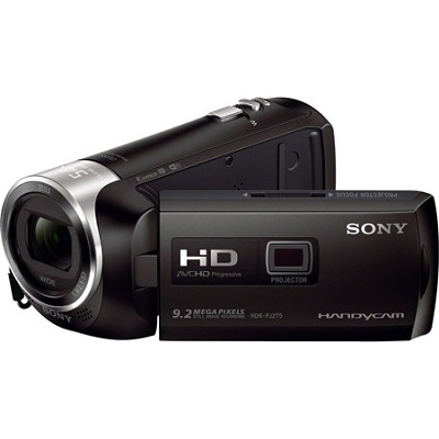 HDR-PJ275/B Full HD 60p Camcorder w/ built-in Projector