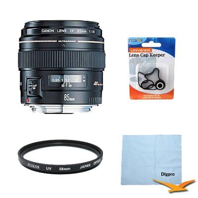 EF 85mm F/1.8 USM Lens Exclusive Pro Kit