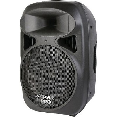 15'' 1600 Watt Portable Powered 2 Way Full Range Loud Speaker System