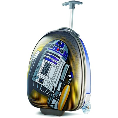 18` Upright Hardside Suitcase - (Star Wars R2D2)