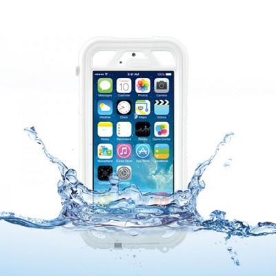 Vault Plus for iPhone 5/5s - White (with Fingerprint Reader Access)