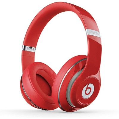 Studio Wireless Over-Ear Headphone - Red