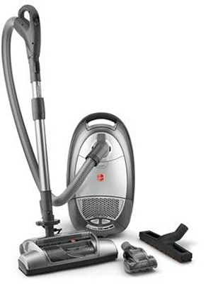 WindTunnel Bagged Canister Vacuum with Pet Hair Tool (S3670)