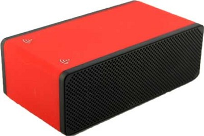 DropNplay Wireless Speaker - Red