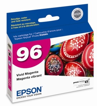 Vivid Magenta Ink Cartridge for Epson Stylus R2880