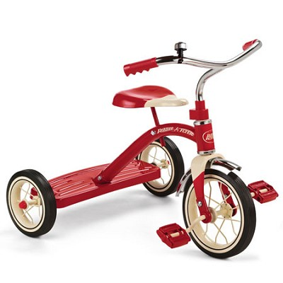 34B Classic Red Tricycle