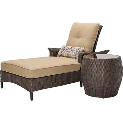 Gramercy 2-Piece Seating Set in Country Cork - GRAMERCY2PC