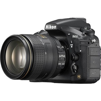 D810 FX-format Digital SLR with 24-120mm f/4G ED VR Lens