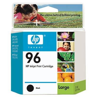 #96 Black Inkjet Printer Cartridge 21 ml.