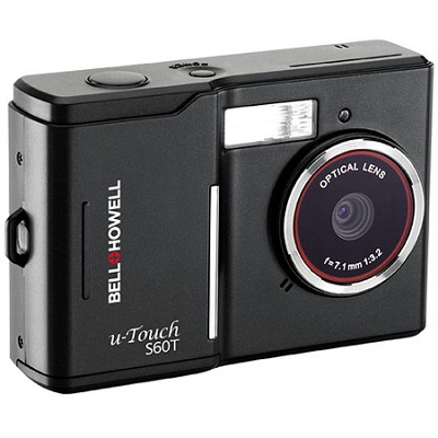 S60T u-Touch 10 MP Digital Camera w/ 8X Zoom, 2.7 Inch Touch LCD