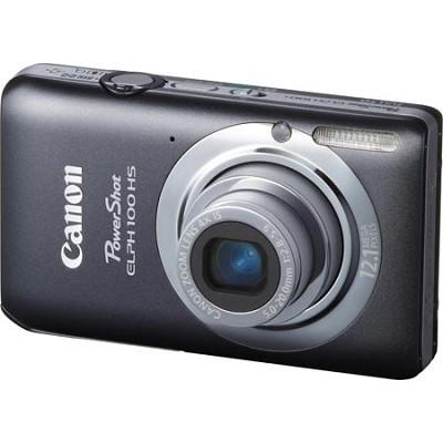 PowerShot ELPH 100 HS 12MP Grey Digital Camera w/ 4X Optical Zoom 1080p Video