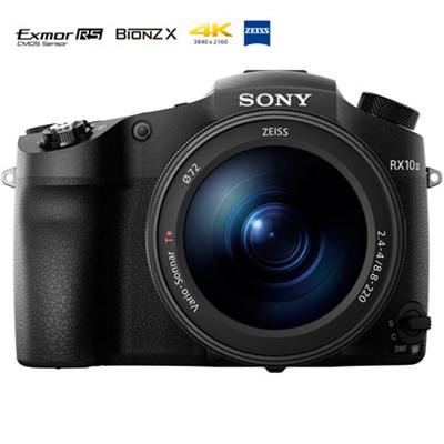 DSC-RX10M III Cyber-shot 4K Video 20.1MP 1` Sensor Super Zoom - OPEN BOX