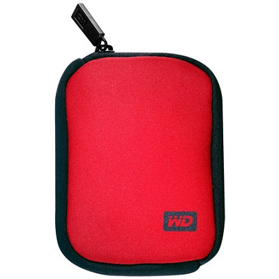 My Passport Carrying Case - Red