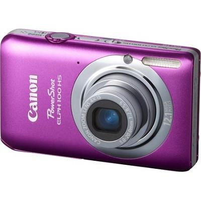 PowerShot ELPH 100 HS 12MP Pink Digital Camera w/ 4X Optical Zoom 1080p Video