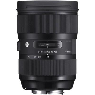 24-35mm F2 DG HSM Standard-Zoom Lens for Sigma SA Bayonet Cameras
