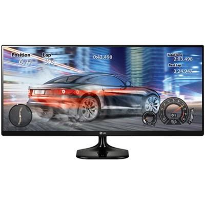 25UM58 2560 x 1080 Resolution (FHD) 25` Monitor - OPEN BOX