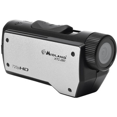 High Definition 720p Wearable Action Camera with 2 Mounts (Black) - XTC260VP3