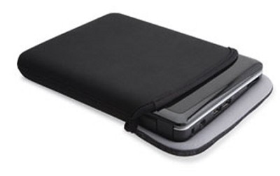 K6 Reversible Sleeve for Netbooks, Fits 7 to 9-Inch Netbooks (Black)