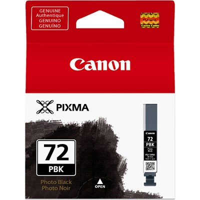 PGI-72 Photo Black Pigment Ink Catridge for PIXMA PRO 10 Printer