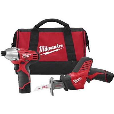 2491-22 M12 Cordless LITHIUM-ION 2-Tool Combo Kit